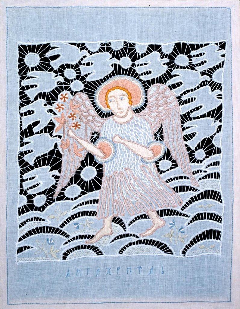 Ангел вечерней зари 40х30 1998 г