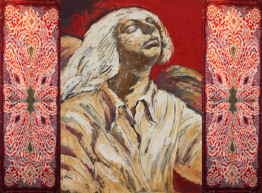 Опарина(текстиль) и Ледков(живопись) проект